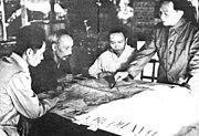 Tướng Giáp báo cáo kế hoạch tấn công Điện Biên Phủ