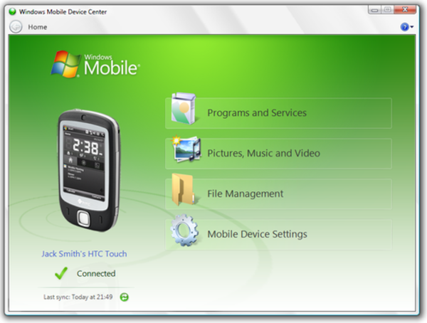 Windows Mobile Device Center - Wikiwand