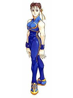 Chun-Li trong Street Fighter Alpha 2