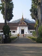 Cung điện hoàng gia cũ tại Luang Prabang, hiện nay là bảo tàng