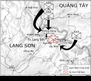 Mặt trận Lạng Sơn. Mặt trận Cao Bằng. 5 giờ sáng ngày 17 tháng 2 năm 1979  ...