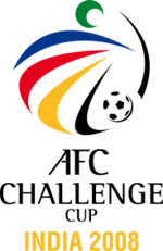 Logo of the 2008 AFC Challenge Cup