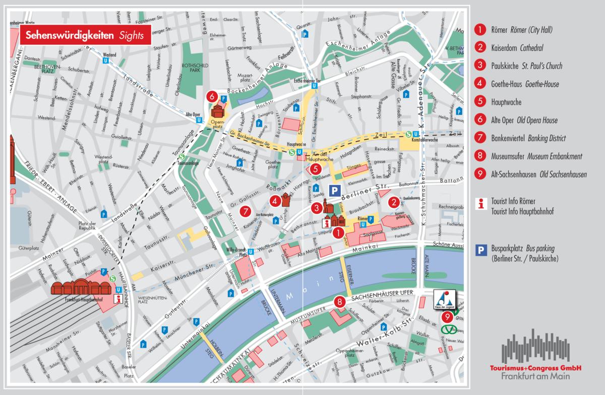 Frankfurt map - Wikimania