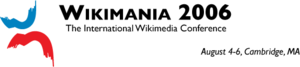 Wikimania 2006 banner