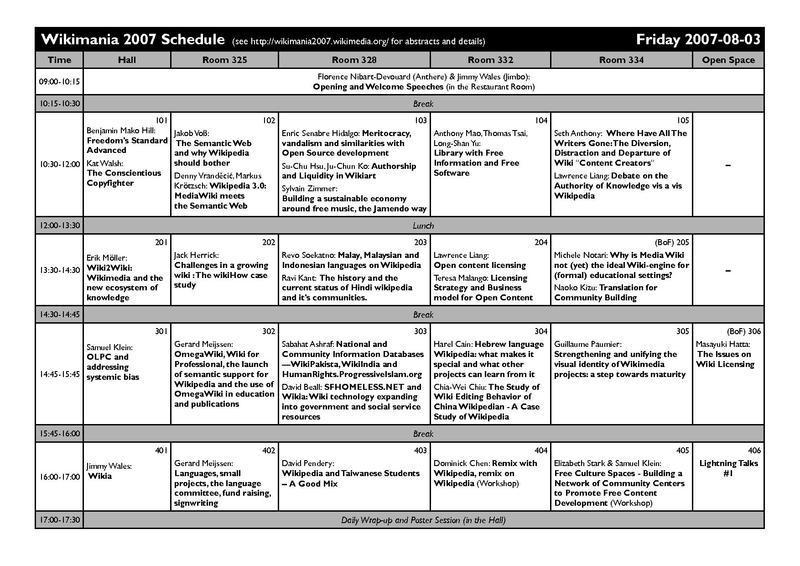 schedule print