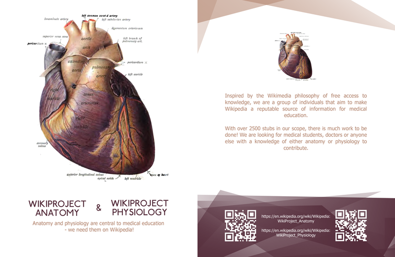 Wikiproject Anatomy & Psysiology leaflet front copy.png