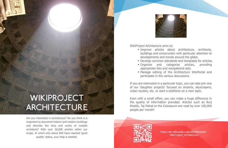 WikiProject Architecture Leaflet front copy.png