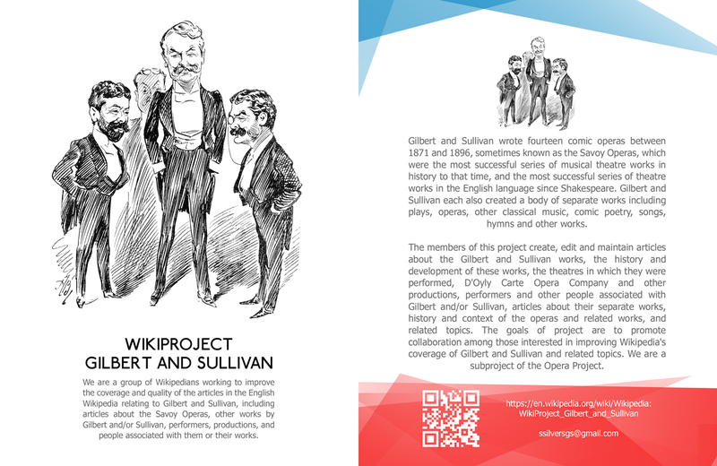 Wikiproject Gilbert and Sullivan leaflet front copy.png