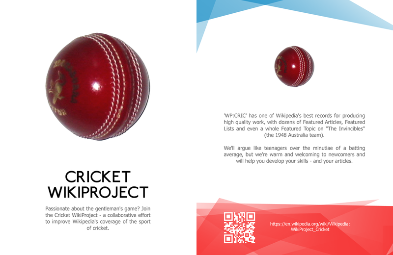 Cricket WikiProject Leaflet front copy.png