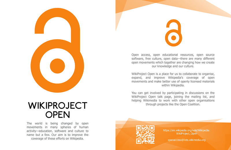 Wikiproject Open Leaflet front copy.png