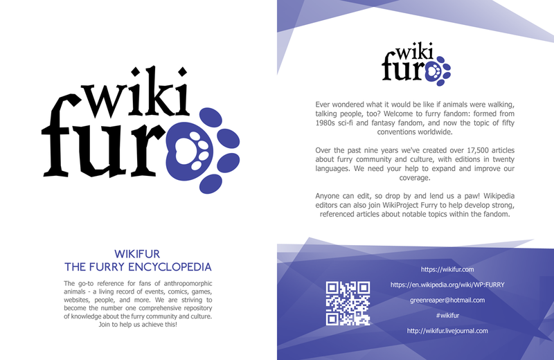 WikiFur The furry encyclopedia leaflet front copy.png