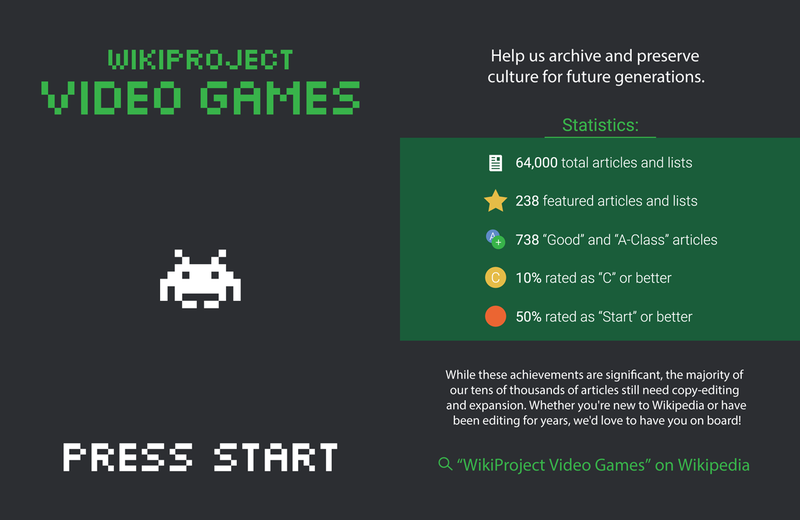 Project Leaflet WikiProject Video Games back and front.png