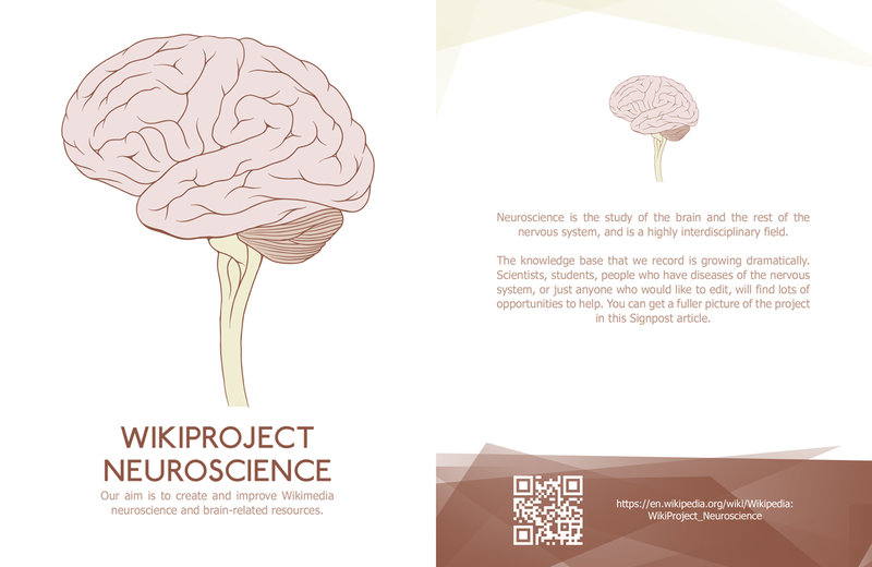 Wikiproject Neuroscience leaflet front copy.png