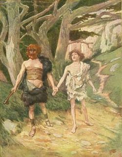 Cain leadeth abel to death tissot.jpg