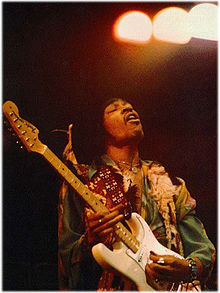 Hendrix live at the Royal Albert Hall, February 18, 1969.