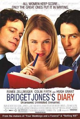 BridgetJonesDiaryMoviePoster.jpg6. Bridget Jones's Diary (2001)  BJ單身日記有多出名大概不用小編講吧,主要內容就是講述一位剩女Bridget希望在聖誕找到真愛的故事,最後在一位風流倜儻和以爲高冷的帥哥之中猶豫,故事最後十分暖心,適合情侶們一起看!現在已經推出第3集了,大家可以一次過重溫呢!