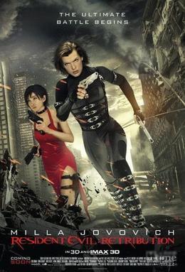 【驚悚】惡靈古堡V(生化危機5:懲罰) : 天譴日線上完整看 Resident Evil: Retribution