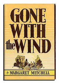 Original 1936 cover of Gone with the Wind