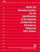 2001版NFPA 704标准