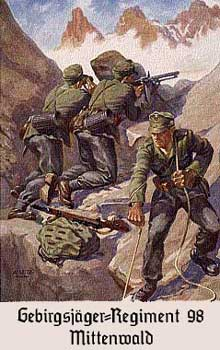 二战中的德国山地步兵