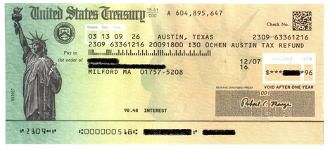 tax refund paper check by irs mail date Irs e-file tax refund  forms in the mail in late february e-filing tax refund payment  by irs betweendirect deposit datepaper check mailed date.