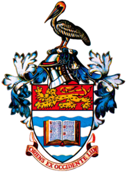 Coat of arms of the University of the West Indies.png