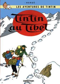 Cover of Tintin au Tibet.jpg