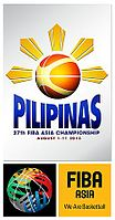 Official logo of 2013 FIBA Asia Championship