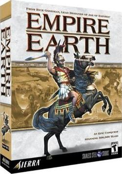 Empire Earth PC Box cover