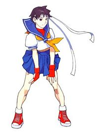 Kasugano Sakura(Street Fighter Zero series).jpg