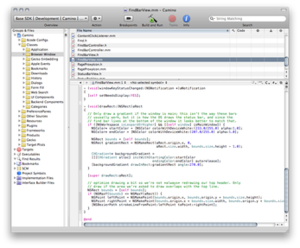 Xcode 3.2 project window.png