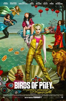 Birds of Prey (and the Fantabulous Emancipation of One Harley Quinn) poster.jpg