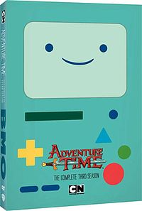 Adventure Time - The Complete Third Season DVD box cover.jpg