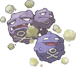 Pokémon Koffing and Weezing art.png
