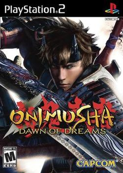 Onimusha Dawn of Dreams Boxart.jpg