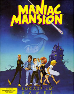 Maniac Mansion(Game Cover).jpg