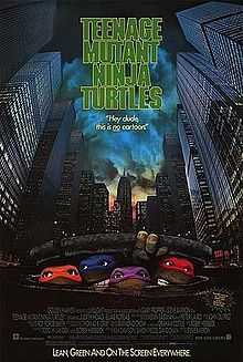 Teenage Mutant Ninja Turtles poster (1990 film Version).jpg