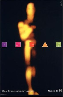 63rd Academy Awards ceremony poster.jpg