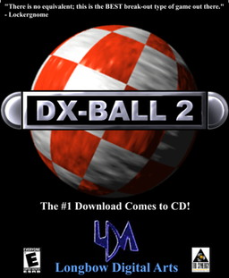 DX-Ball 2 box cover