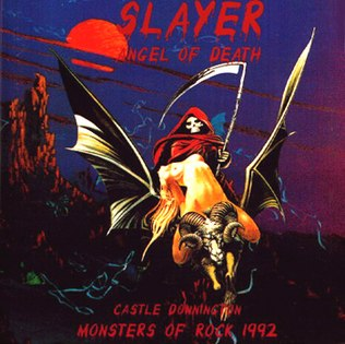 Angelofdeath (Slayer album) cover
