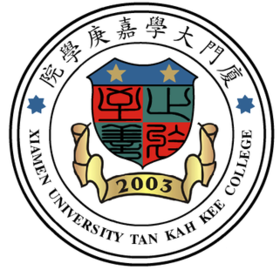 Xiamen university tan kah kee college badge.png