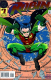 Cover of Robin vol. 2, #1 (November 1993) featuring the Tim Drake version of the character. Art by Tom Grummett and Scott Hanna.