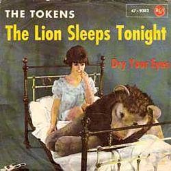 狮子今晚睡着了
