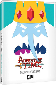 Adventure Time - The Complete Second Season DVD box cover.png