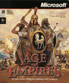 Age of Empires PC Box cover