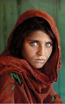 阿富汗女孩