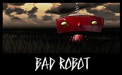 New Bad Robot Productions logo seen in the Super 8 trailer.