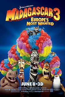 馬達加斯加 Madagascar 3 : Europe