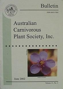 澳大利亚食虫植物协会公报