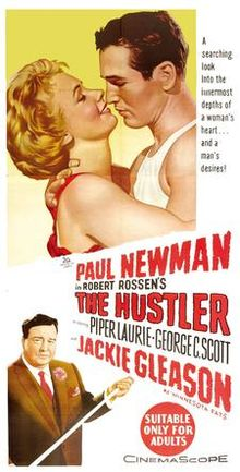 Original movie poster for the film The Hustler.jpg